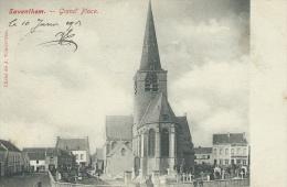 Zaventem - Groote Markt  - Kerk  - 1904 ( Verso Zien ) - Zaventem