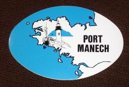 Port Manech ( No CP ) Autocollant / Sticker Adhésif Autocollant - Finistère Bretagne - Névez