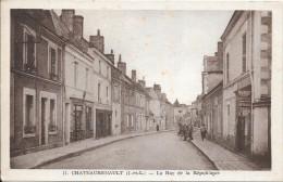 CHATEAURENAULT - 37 - La Rue De La République - ENCH1202 - - France