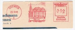 EMA ALLEMAGNE DEUTSCHLAND GERMANY ARCHITECTURE 1944 DEUTSCHE REICHSPST ARCHITKTUR MAGASIN COMMERCE BACHMANN BREMEN - Other