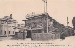Cp , 75 , PARIS , Exposition Des Arts Décoratifs , Pavillon National Du Japon - Expositions