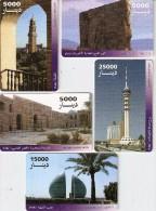 *IRAQ* - Lotto Di 5 Schede  A Chip Usate Differenti - Iraq
