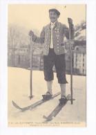 65 Cauterets Sports D'Hiver Jean-Marie Bordenave Guide  Champion Du Concours De Skis Reproduction Cecodi  TBE - Cauterets