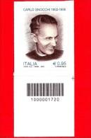 Nuovo - MNH - ITALIA - 2016 - 60 Anni Della Morte Di Carlo Gnocchi - Ritratto - 0,95 € - Cod. A Barre 1720 - Code-barres
