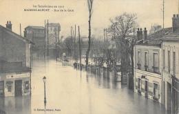 Les Inondations Janvier 1910 - Maisons-Alfort - Rue De La Gare - Edition G. Imbert - Carte Non Circulée - Inondations