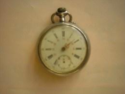 Montre Gousset En Argent à Restaurer - Horloge: Zakhorloge