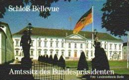 GERMANY A39/93 Berlin : Castle Bellevue - Sitz Des Bundespräsidenten - A + AD-Serie : Pubblicitarie Della Telecom Tedesca AG