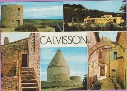 30 °° CALVISSON Les Moulins - Multivues 5 Photos – écrite * TBE - France