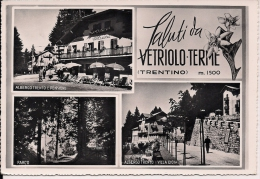 VETRIOLO TERME  TRENTO  Fg  Albergo Trento - Trento