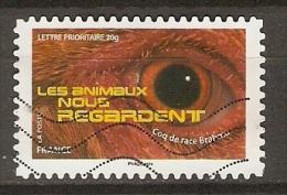 FRANCE   -    OEIL  /   LES OISEAUX NOUS REGARDENT  -     Oblitéré - Francia