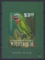 Micronesia 2014 - Faune, Oiseaux, Perroquet  - BF Neuf // Mnh - Micronésie