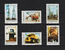 1986 -   L INDUSTRIE  Mi No 4306/4311 Et YV No 3712/3717 - 1948-.... Republics