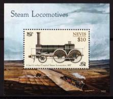 NEVIS 2014 - Locomotives Classiques à Vapeur -  BF II Neufs // Mnh - St.Kitts E Nevis ( 1983-...)