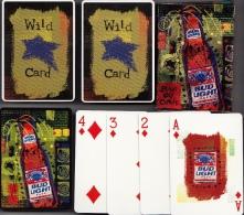 BUD LIGHT BEER Jeu De Cartes Complet + 2 Jokers (Speelkaarten, Playing Cards) Bier Bière - Carte Da Gioco