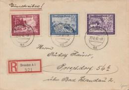 Deutsches Reich 1942 Einschreiben Brief - Germania