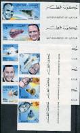1966-QATAR-ESPACE-STRIPS / TABS- 8 VAL.IMPERF.M.N.H. -LUXE !! - Qatar