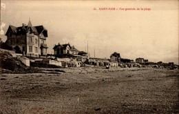 50-ST-PAIR..VUE GENERALE DE LA PLAGE....CPA - Saint Pair Sur Mer
