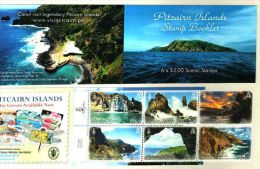 PITCAÏRN 2016 - Paysages De Pitcaïrn - 6 Val Neufs En Carnet // Mnh Booklet - Pitcairn