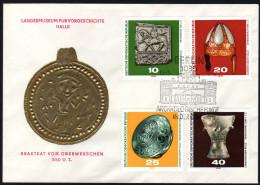DDR 1970 - Archäologische Funde In Der DDR - Sonderstempel FDC - Archäologie