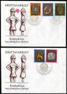 DDR 1978 - Archälogie / Kostbarkeiten Von Slawischen Stätten - Sonderstempel 2 FDC - Archäologie