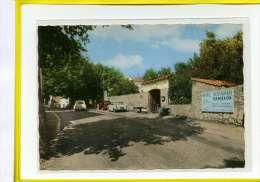 """SAINT -VALLIER -DE -THIEY - Route Napoléon Et Le Restaurant """"chez TITINE"""" Collection Coquet N° DI30 Peugeot 404 Traction - Autres Communes"""