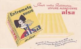 Buvard - Levure Alsacienne ALSA  - Découper Les Chèques Tintin - 2 - Alimentaire