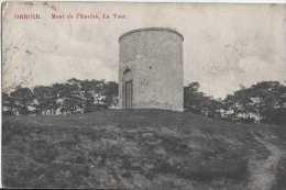 Orroir - Mont De L'Enclus - La Tour - Circulé En 1909 - Timbre Surtaxe - NB - BE - Kluisbergen