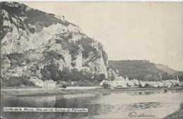 Poilvache - Vallée De La Meuse - Vue Sur Les Ruines De Poilvache - Circulé En 1908 - NB - TBE - Yvoir