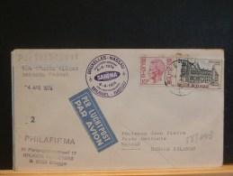 48/043    DOC. BELGE  1° VOL  SABENA   1974 - Luchtpost