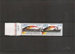 DDR ( 2674A XXX -MNH- Variété 1- R De UdSSR Plus Court )