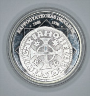 Hongrie Hungary Ungarn ECLIPSE Denar 1235-1270 REPLICA Médaille SILVER - UNC / PP With Certificate - Hongrie