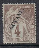 GUYANE N°18 N* - Guyane Française (1886-1949)