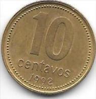 Argentina 10 Centavos 1992  Km 107 - Argentine