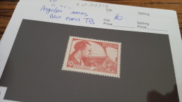LOT 299221 TMBRE DE ARGENTINE MERMOZ RARE NON EMIS - Argentine