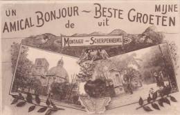 Un Amical Bonjour De  Scherpenheuvel :ijn Beste Groeten Uit Montaigue - Scherpenheuvel-Zichem