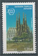 France, UNESCO, Sagrada Familia, Barcelona, Spain, 2014, MNH VF - Officials