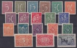 DR MiNr. 158-176 ** - Unused Stamps