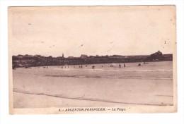 29 Argenton Porspoder La Plage Cachet Porspoder 1949 - France