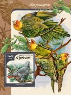 Djibouti. 2016 Parrots. (112b) - Perroquets & Tropicaux
