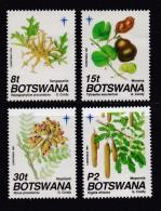BOTSWANA, 1991, Mint Hinged Stamps , Christmas, 501--504 , #986 - Botswana (1966-...)