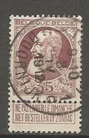 BELGIQUE - Yv. N° 77  (o)   35c   Cote  2,25 Euro  BE   2 Scans - 1905 Barba Grossa