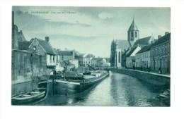 België  Oudenaarde, Audenarde, Une Vue Sur L'escaut, - Oudenaarde