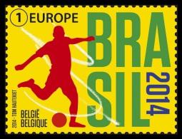 Belgium 2014 Mih. 4468 Football. FIFA World Cup In Brazil MNH ** - Belgium