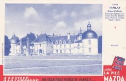 Buvard - Pile MAZDA Château De Tanlay Yonne - Piles