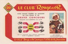 Buvard - Livre Le Club ROUGE ET OR - 549 Au Pays Du Renard Blanc - Stationeries (flat Articles)