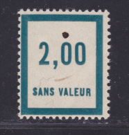 FRANCE FICTIF N°  F52 ** MNH Neuf Sans Charnière, Défaut (LOT F034) - Phantomausgaben