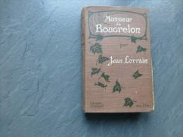 Jean Lorrain, Monsieur De Bougrelon, Ollendorff, Cartonnage ART NOUVEAU, 1902 ; Ref C 27 - Livres, BD, Revues