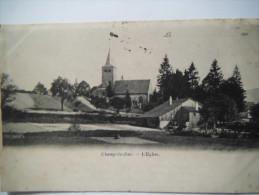 Champ Le Duc , L'église  ,1901 - France