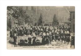 Pensionnat De La Doctrine Chrétienne, JEMELLE, - Jardin  (1912). - Rochefort