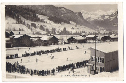 ICE HOCKEY PARTY In GSTAAD Switzerland ~1925 - Sports D'hiver